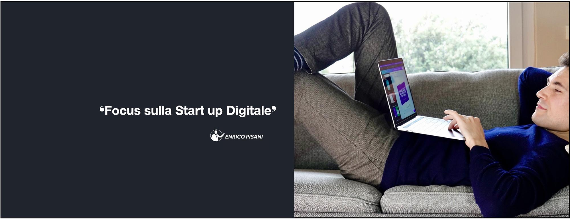 Enrico pisani Startup digitale